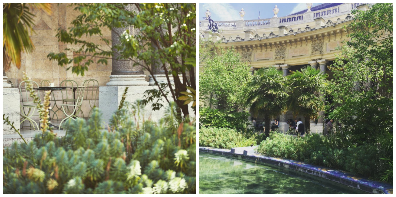 Balade au petit palais for Au jardin du port le palais