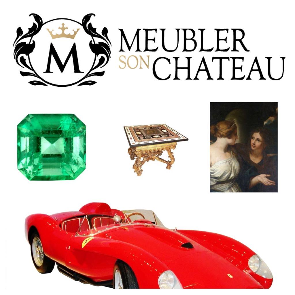 saisir Château l/'ouverture ouverture meubles saisir Historismus château est saisie